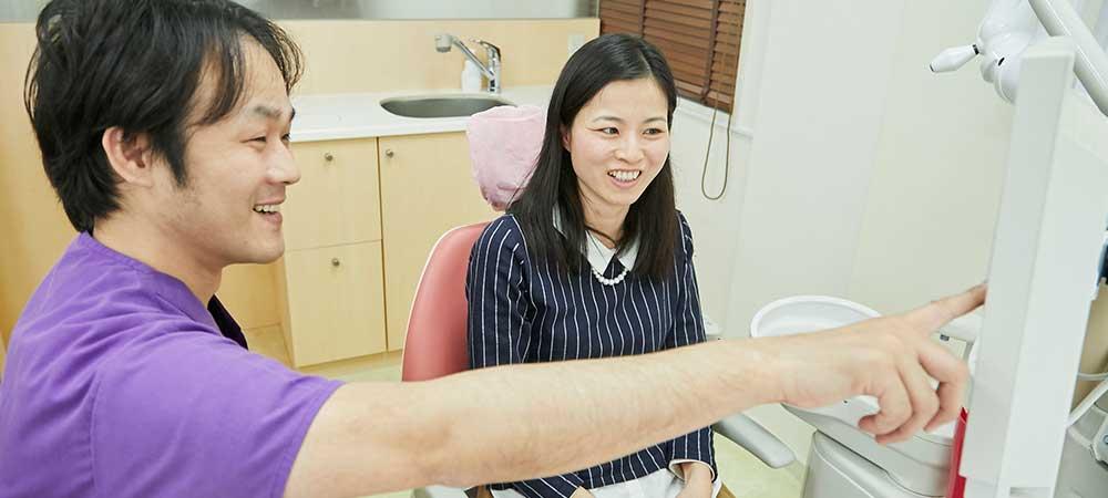 痛くない時の歯医者さん