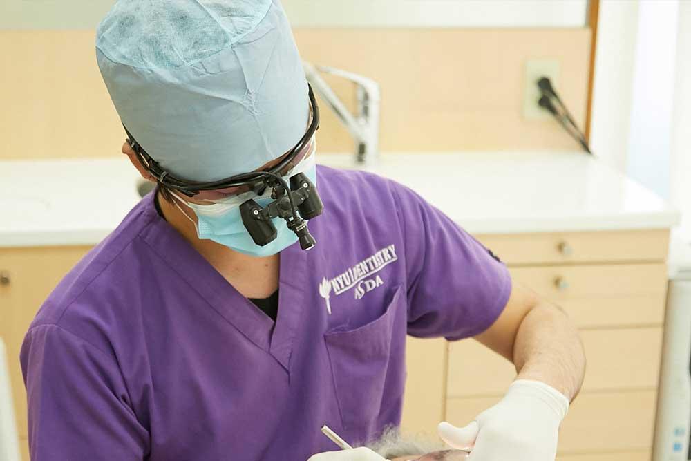 麻酔針の刺し方
