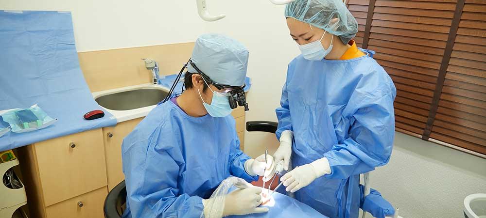 専門医のチーム医療